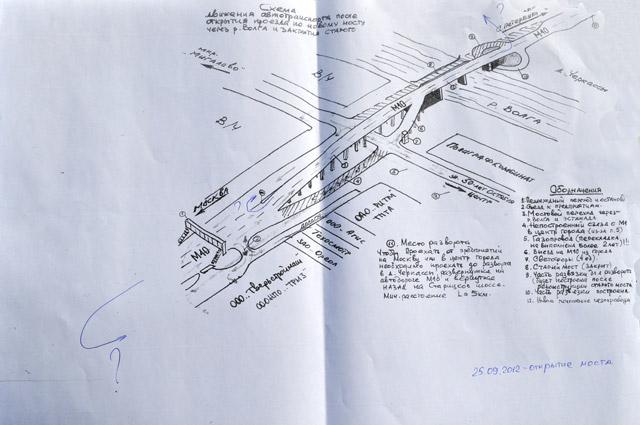 Тверь строительство моста схема